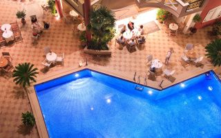 pieria hotel with pool - Evdion Hotel