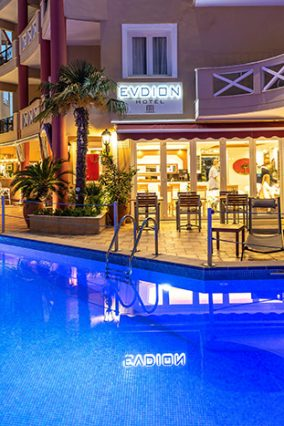 Accommodation in Nei Pori - Evdion Hotel